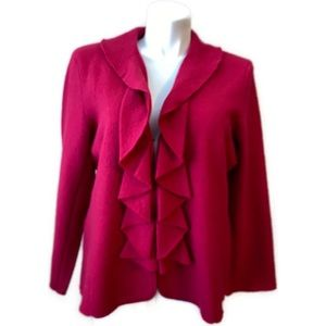 Charter Club Wool Sweater Blazer